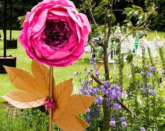 Giant paper flower etsy giant paper flower wedding decor free standing oversize paper flowers mightylinksfo