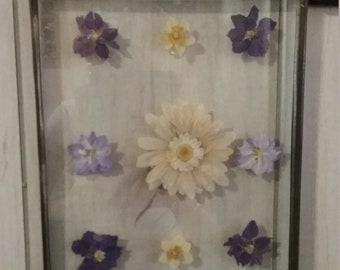 Pressed Flowers Wall hanging