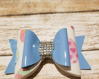 Patent Leather Easter Bow