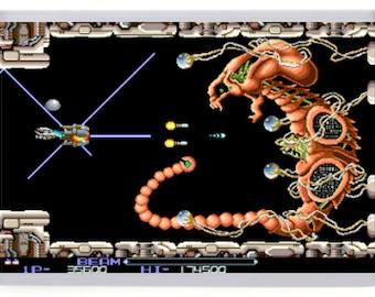 R Type Arcade Fridge Magnet. First Boss Battle
