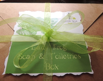 The Charming Lady Frog Box, For Women, Surprise Soap Box, Mystery Soap Box, For Her Soap, Mother's Day, Gift Soap Box