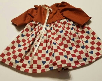Dress for 18 inch dolls Will fit American girl dolls