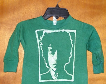 Kids Handmade Batik Bob Dylan Tshirt
