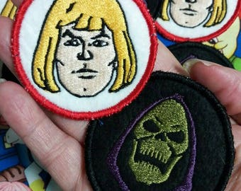 He-man and Skeletor  Patches