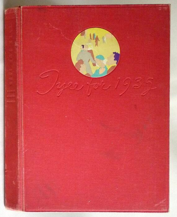 University of Washington Yearbook (Annual) 1935 - Tyee - Seattle, Washington WA - King County