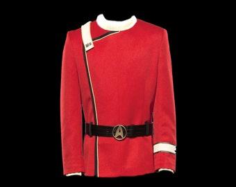 Star Trek TWOK Uniform Jacket Costume Replica Custom Made