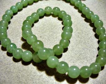Aventurine Beads Gemstone Green  Round 6mm