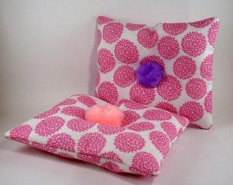 Catnip Pillow, Handmade Cat Toys, Cat Pom Pom