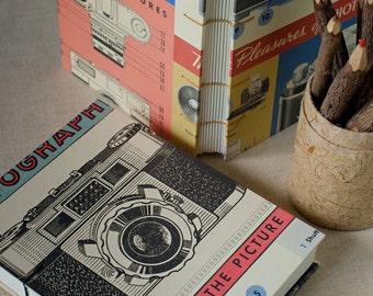 Bullet Journal // Sketchbook Vintage Camera Bullet Notebook Writing Journal Sketchbook for Travel Boyfriend Journal Pocket Notebook