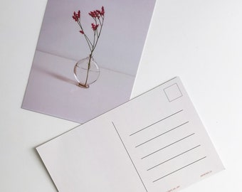 Floral Postcard Prints - The Pink Collection