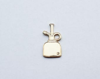 Gold Plant Mister | Lapel Pin