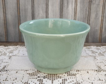 Vintage Haeger Planter/Seafoam Green/Haeger USA 3833/Home and Living/Home Decor/Indoor Gardening