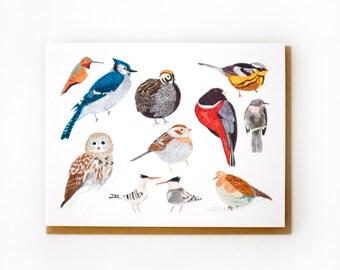 Collected Birds Card