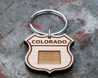 Colorado State KEYCHAIN
