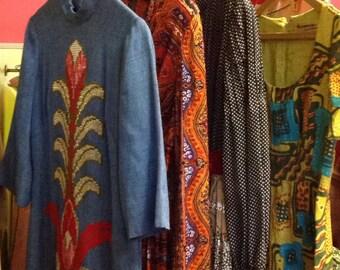 Bohemian 60s Maxi Dresses