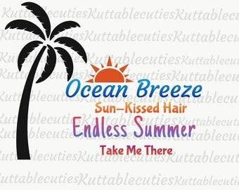 Endless Summer SVG