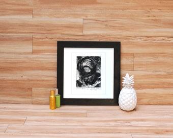 Corrosion con Proposito - Coffee & Rust Stain Intaglio Print