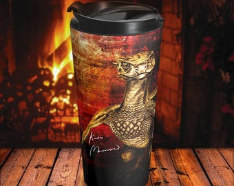 Viserion Game Of Thrones Travel Mug