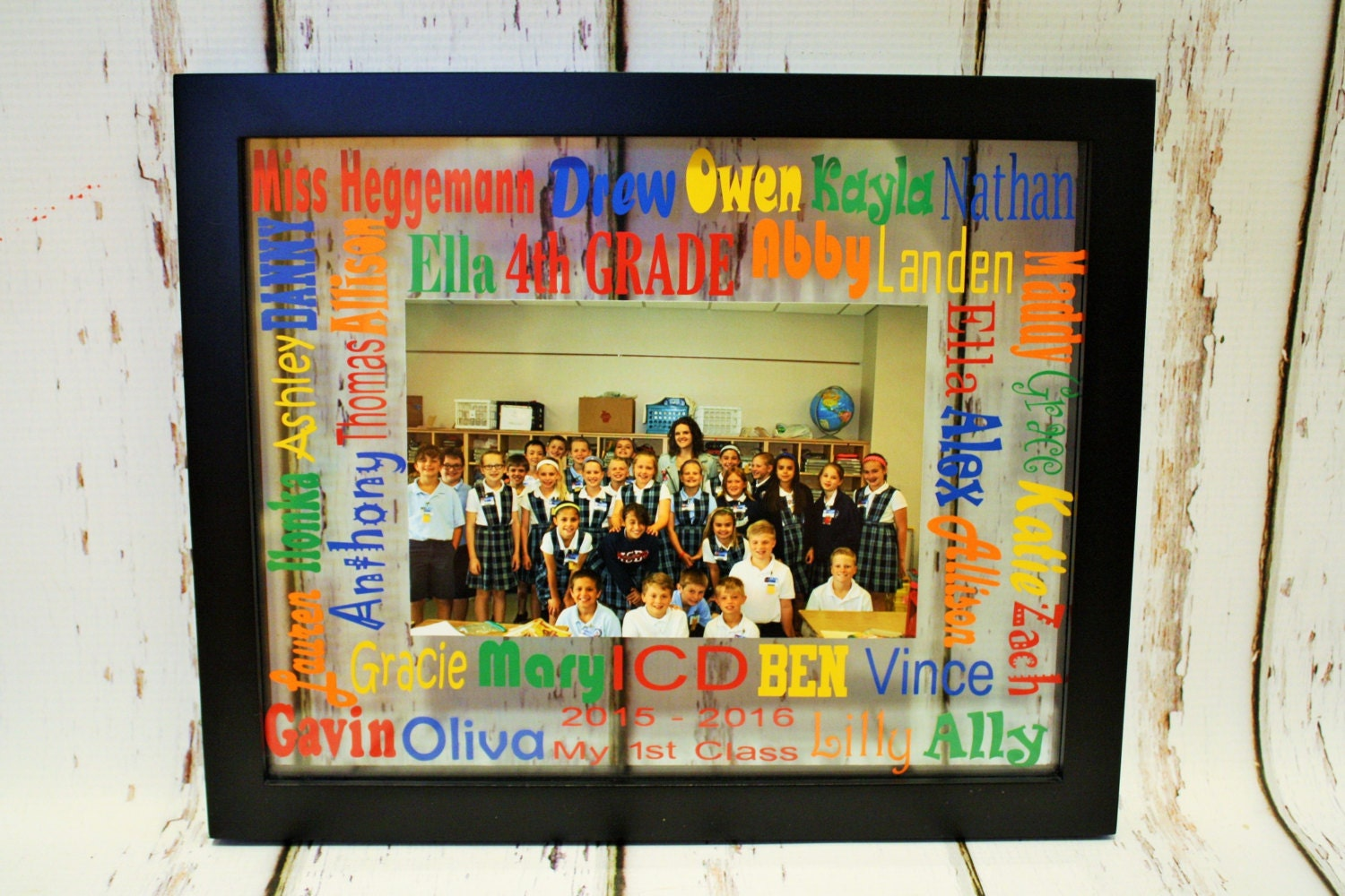 School words glass floating picture frame teacher gift end of the school words glass floating picture frame teacher gift end of the year gift first day of school gift personalized teacher giftclass gift jeuxipadfo Image collections