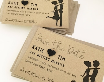 trolley car save the dates cable car save the date cards