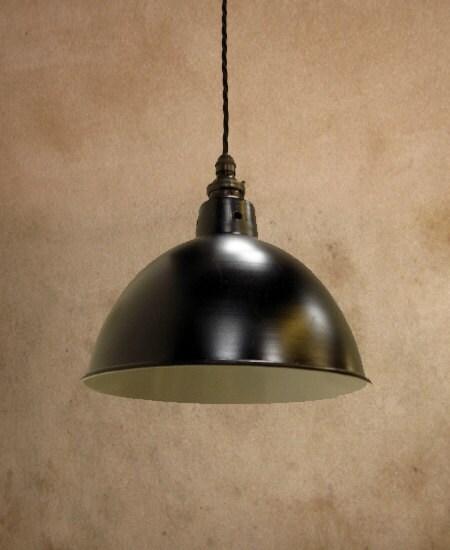 Black industrial enamel factory lamp shade industrial enamel zoom aloadofball Gallery