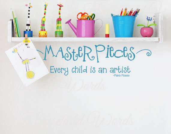 Items Similar To Nursery Wall Decal Every Child Is An