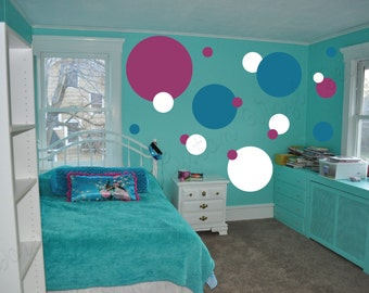 Custom Vinyl Lettering & Decals - Dots Wall Decal