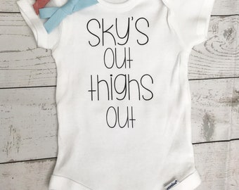 Sky's Out Onesie