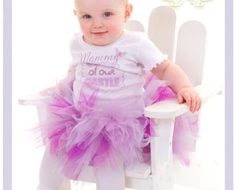 Mother's Day Tutu Dress Set Purple Tutu Set Mothers Day Outfit 2T 3T 4T