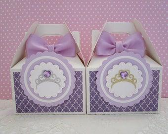 Princess Favor Boxes, Favor Boxes, Princess Party Favor Boxes, Princess Party Favors, Princess Party, GirlFavor Boxes, Party Favors Qty 10