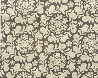 Meadowsweet Henna Garden speckle Sandi Henderson fabric FQ or more oop htf