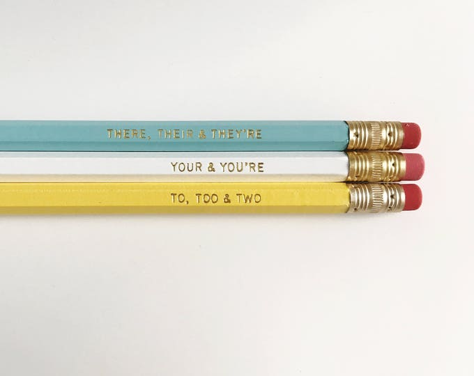 Featured listing image: Good Grammar Pencils