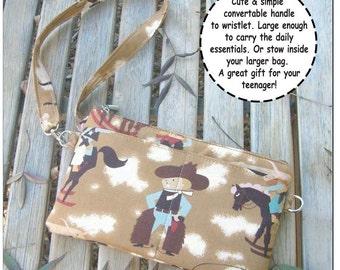 Sewing Pattern Marge Handbag Wristlet PDF