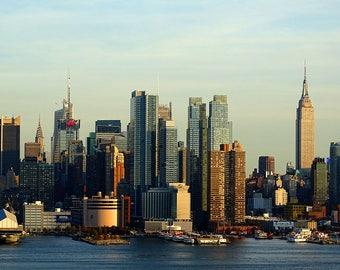 Manhattan Skyline - New York City Photography