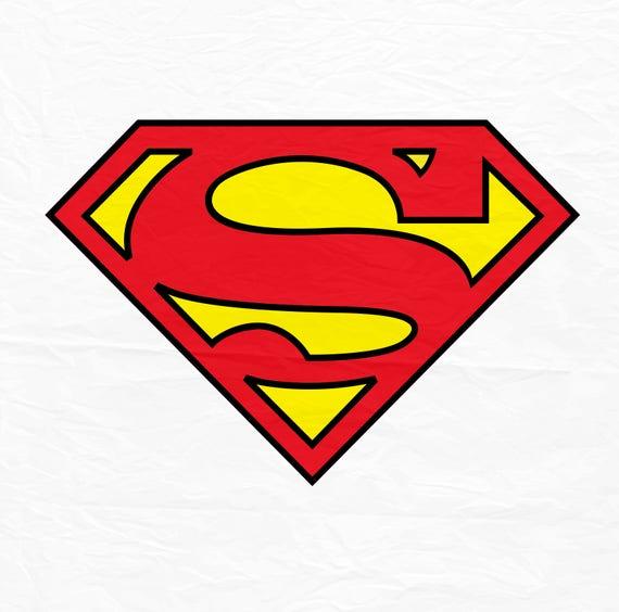 Svg de super h ros pour le svg superman superman signe de - Signe de superman ...