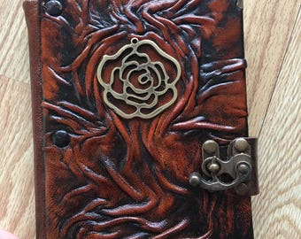 Steampunk Journal, Leather Journal, Leather Notebook, Travel Journal, Diary, Gift Idea