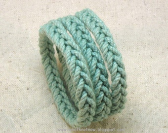 slender herringbone rope bracelets in teal blue cord sailor bracelet nautical rope bracelet