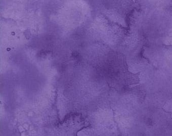Watercolor in Violet from Moda