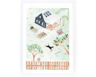 Home Sweet Home - archival art print