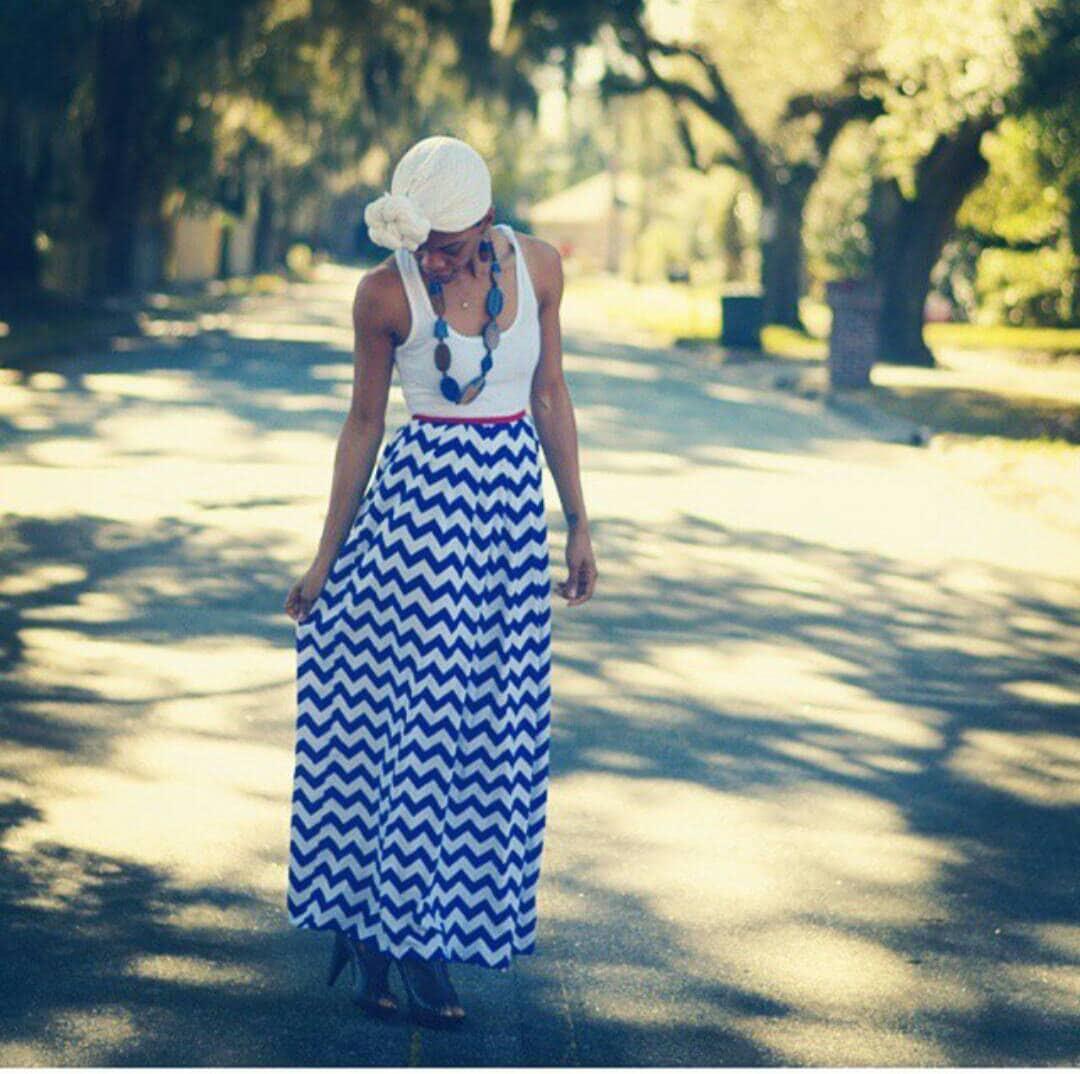 Patriotic maxi dresses for women and girls chevron maxi zoom ombrellifo Choice Image