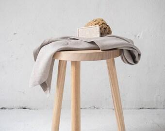 LINEN BATH TOWEL. 100% stonewsahed linen. Natural linen sauna towel.
