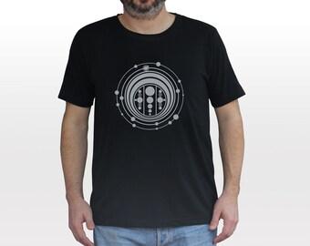 Wiltshire Crop Circle T-shirt |  reflective