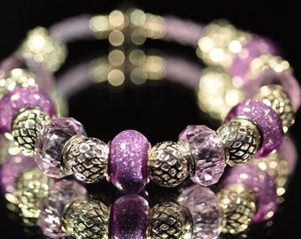 Purple Sparkler ~ Bracelet