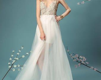 Event White Dress Blanche