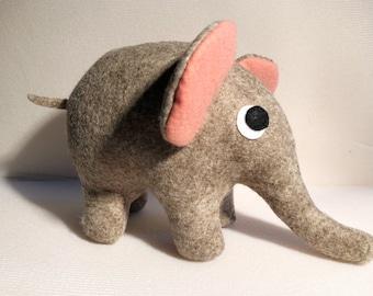 Felt toy. Elephant