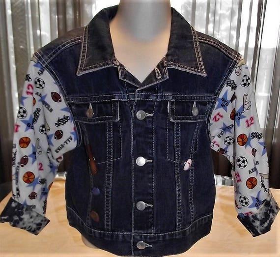 Refurbished Boys Denim Jacket, Size 4