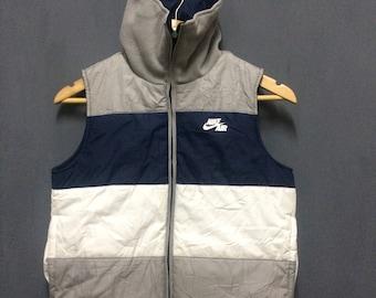 Vintage Reversible Sleeveless Nike Puffer Jacket Size S