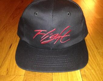 vintage nike flight zip back hat youth OSFA