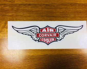 Corvair Air Cooled Sticker