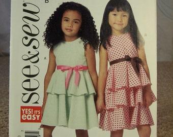 See & Sew B5443 Size B (6-7-8)